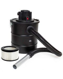 Aschesauger 1200W mit Metallsaugschlauch, Filter und 1 Ersatzfilter